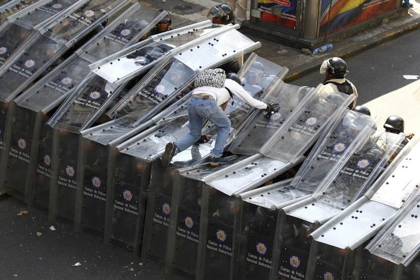 Venezuela Protests Climbing