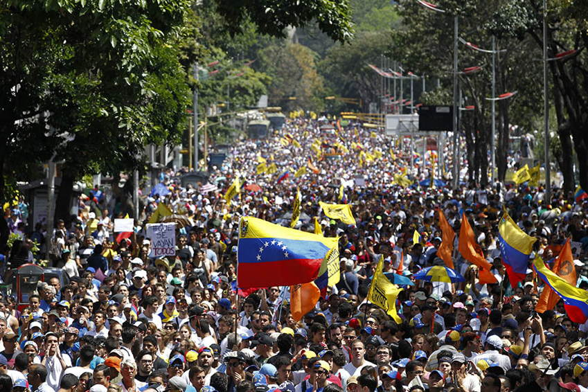 Venezuela Protests Demonstrators