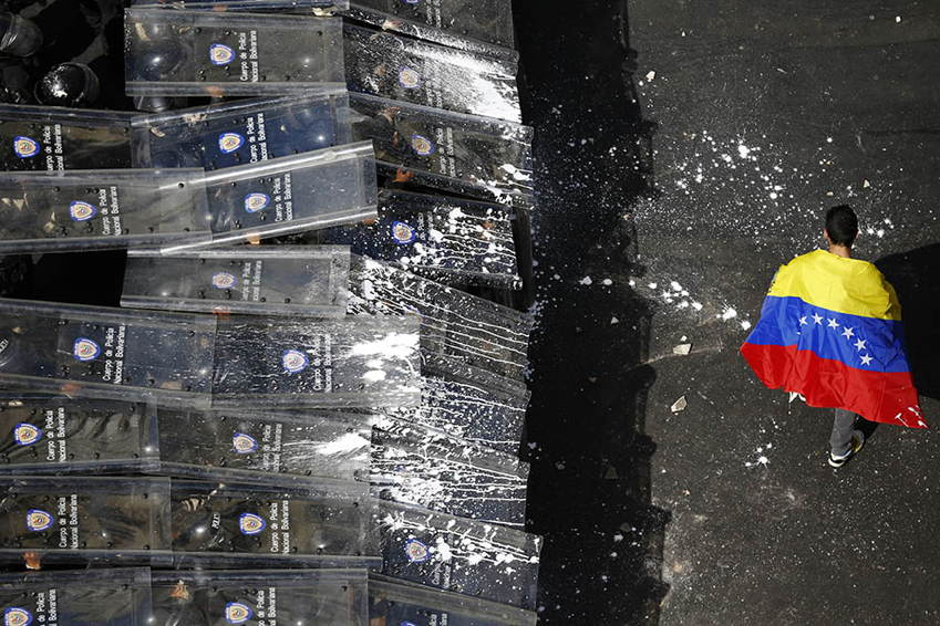 Venezuela Protests Flag