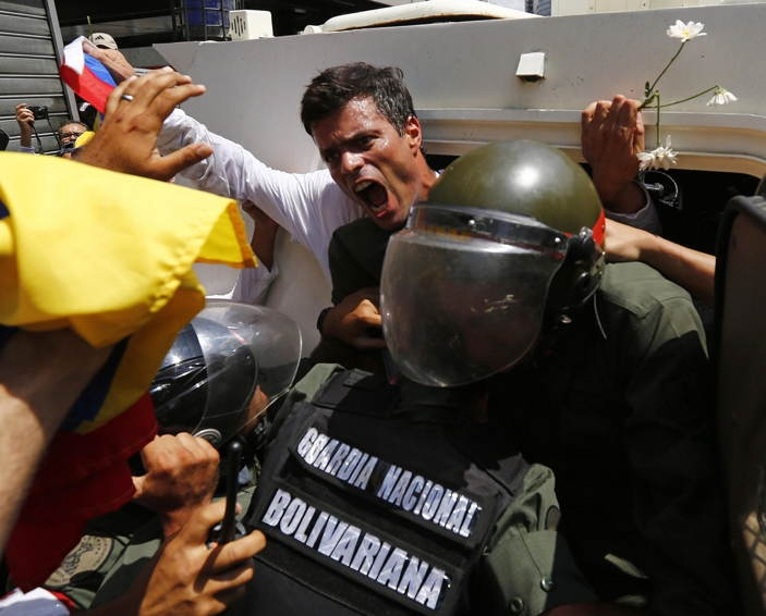 Venezuela Protests Leopoldo Lopez