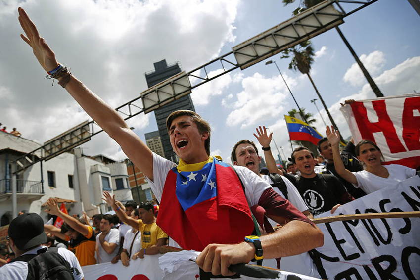 Venezuela Protests Opposition