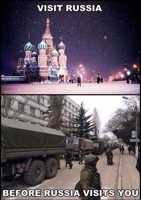 Crimea Memes Visit Russia