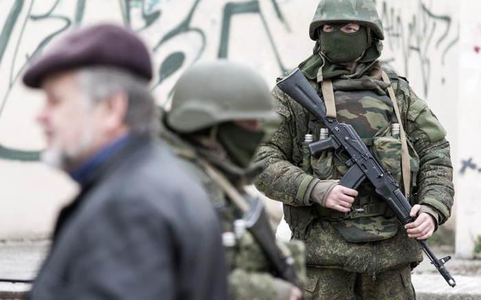Crimea Occupation Crowd