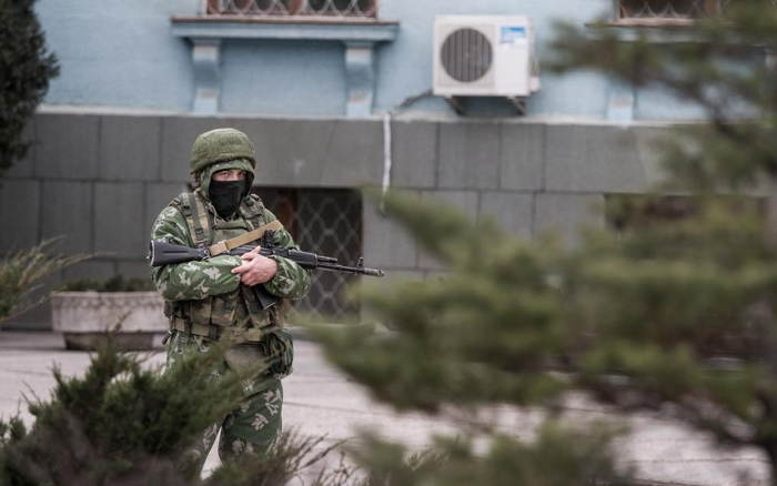 Crimea Occupation Lone Soldier
