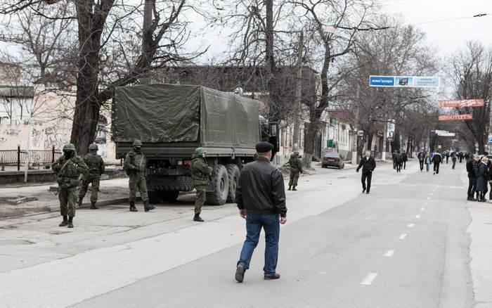 Crimea Occupation Patrolling