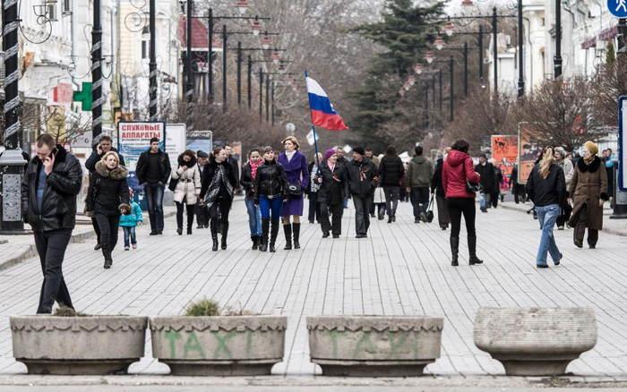 Crimea Occupation Russian Flag