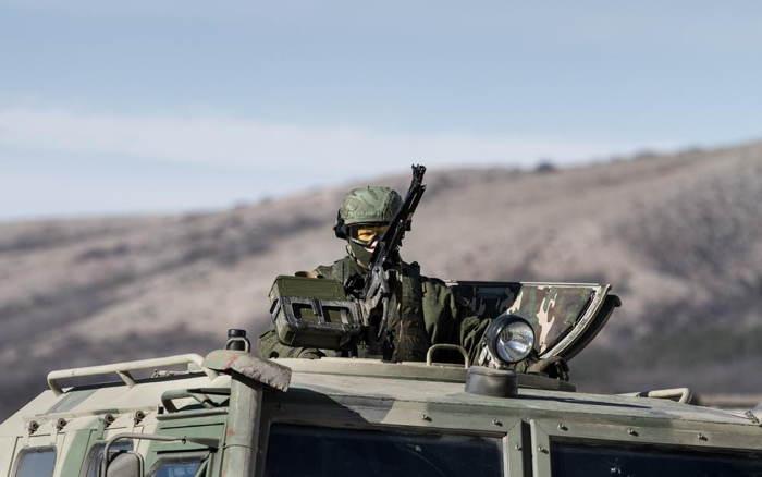 Crimea Occupation Soldier Tank
