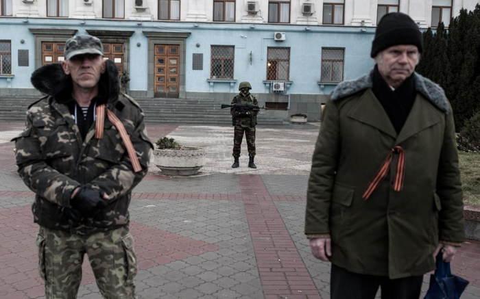 Crimea Occupation Soldiers