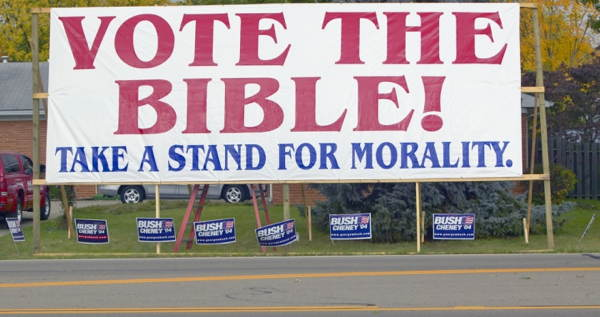 Vote The Bible
