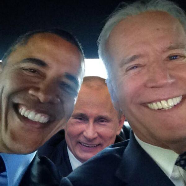 Presidential Selfie