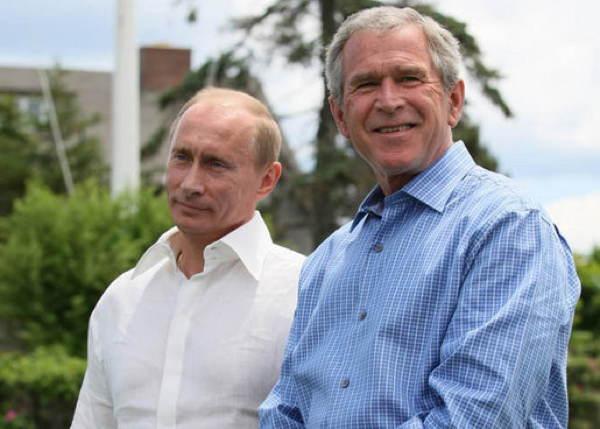Putin Bush Collars