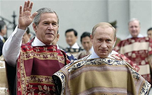 Putin Bush Exotic Clothing