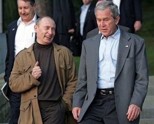 Putin Bush Jokes