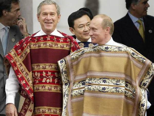Putin Bush Garments
