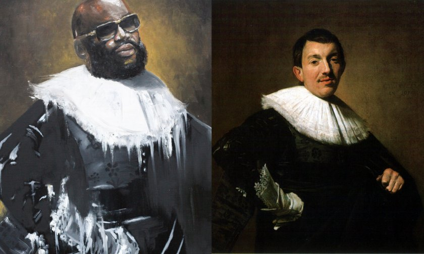Rick Ross Portrait Of Man