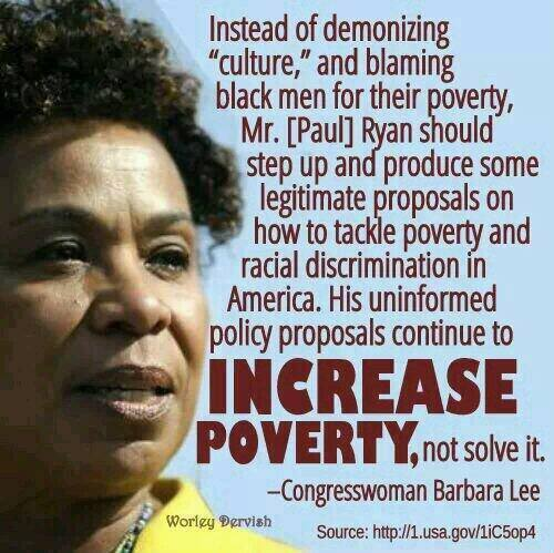 Barbara Lee Paul Ryan