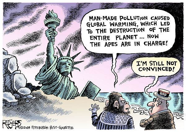 Climate Change Apes